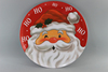Hot Sell 10inch Melamine dinner plate ,Christmas Dishes , Xmas Plate