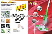 2013 venta caliente x6 de vapor fregona
