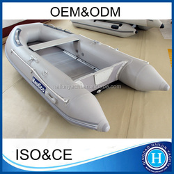 Fishing dinghy inflatable 10 ft aluminum boat made in china