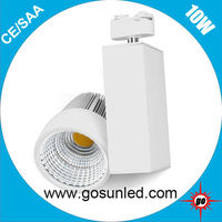 Taiwan Epistar chip LED 10W dimmable LED track lighting