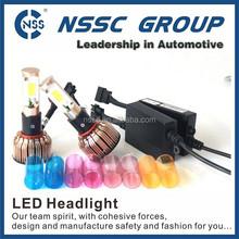 Auto lighting projector slim canbus option 12v car led headlamp bulb