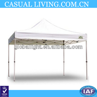 White Caravan Canopy 10 by 10 Traveler Commercial Instant Canopy