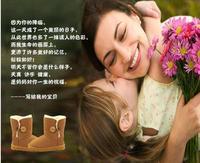 Австралия бренда снега сапоги Сапоги реальный коровьей мальчик/девочка, waterp кровли утепленные детские сапоги модные сапоги для детей