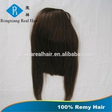 Hot Selling Best Supplier Top Quality No Shedding No Tangle Remy Human Hair hairpiece fringe hair bangs