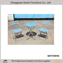 de metal antiguos muebles al aire libre