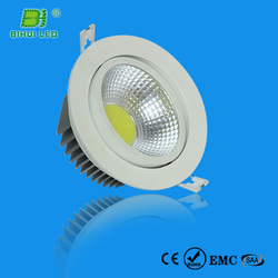professional manufacturer cob led downlight 18w 25w 30w Constant-current driver 2 years warranty