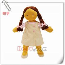 Clásica de sauce, waldorf un estilo suave muñeca de trapo primera muñeca