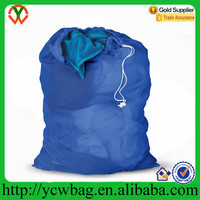 Wholesale Extra Large Cotton Mesh Laundry Bag With Drawstring
