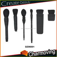 2015 New Design High Quality Flat Makeup Brush Set Professional With Samll MOQ