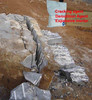 Dexpan Rock Cracking Chemical for granite and marble