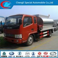 Dongfeng 4x2 asphalt distribution truck asphalt bitumen tank asphalt distributor truck