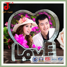 Hot Sales Promotion Gifts Decorating LOVE Gift K9 Blank Hanging Crystal for Wedding Souvenir