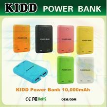 Wholesale price lists catalogs 10000mah fashion usb power bank
