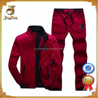 Fashion Wholesale 100% Polyester Custom Winter Jogging Suits