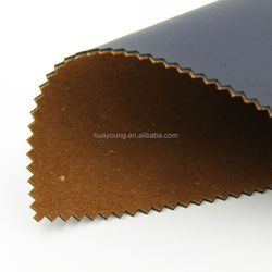 pu leather flocking fabric for sofa shoes