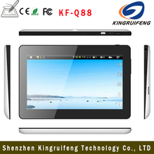 China best price 7'' Q88 A33 4.4 Android smart tablet pc with dual camera