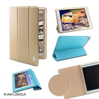 2015 New Product Ultra Thin Hot Sale Leather Case For Ipad Air