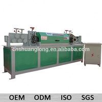 up to 14mm CNC auto steel bar straightening and cutting machine GT4-14 no track frame