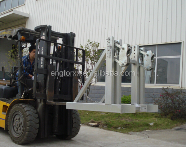 Drum Lifter Clamp for Forklift Attachment