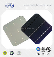 125x125mm mono solar cell with 2 bua bar for cheap sale