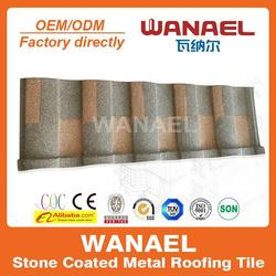 Wanael shingle clay roof tiles with strong heat insulation function