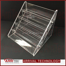 acrylic shelf 5 layers hold 35 bottles clear acrylic nail polish holder