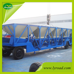 80t/h Mobile Hot Mix Plant Produce High Quality Asphalt