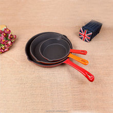 China heibei beauty bight color iron casting pan for egg