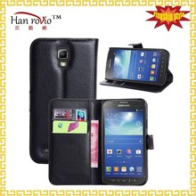 For Samsung S4 Active i9295 case, Wallet pu universal leather cell mobile phone case for Samsung Galaxy S4 Active i9295