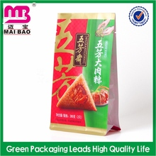beautiful and charming matte printed stand up food bag