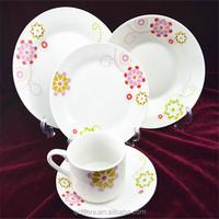 colored ceramic dinnerware sets/lead free dinnerware set/modern china dinnerware wholesale