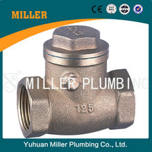 ML-1508 UPC Approved Lead-Free 1-1/2 inch Bronze water meter Swing Check Valve PN16