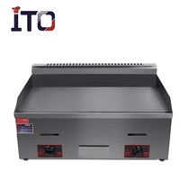 CI-720 Table Top Commercial teppanyaki griddle with flat plate