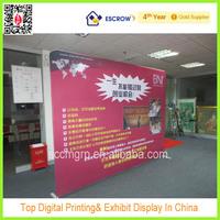 8ft tension fabric display, Straight fabric display