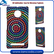 Best selling Case 3D Sublimation Mobile Phone Cover for Micromax Yuphoria