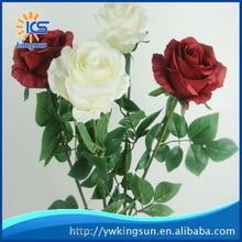 Natural Rose Artificial Flowers Decorative Flowers Home or Party Decoration Wedding Decor Factory Directly