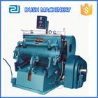 Pyq-203 Manual ventilador de papel vinco e máquina de corte
