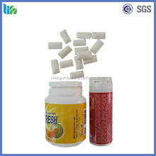 Popular type,jar packing,sugar less chewing gum