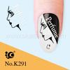 Kiss nail art in Sticker from BLuesea