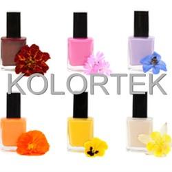 Fluorescent neon color pigment, nail enamel pigment powder, nail varnish pigment
