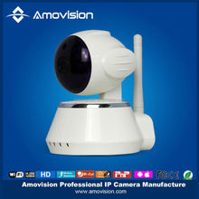Amovision 1.0 pixels plug and play baby monitor remote control wifi ip camera