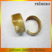 PRIMERO very hige queality cuff hangle circular geometry Bangles cow horn bracelet