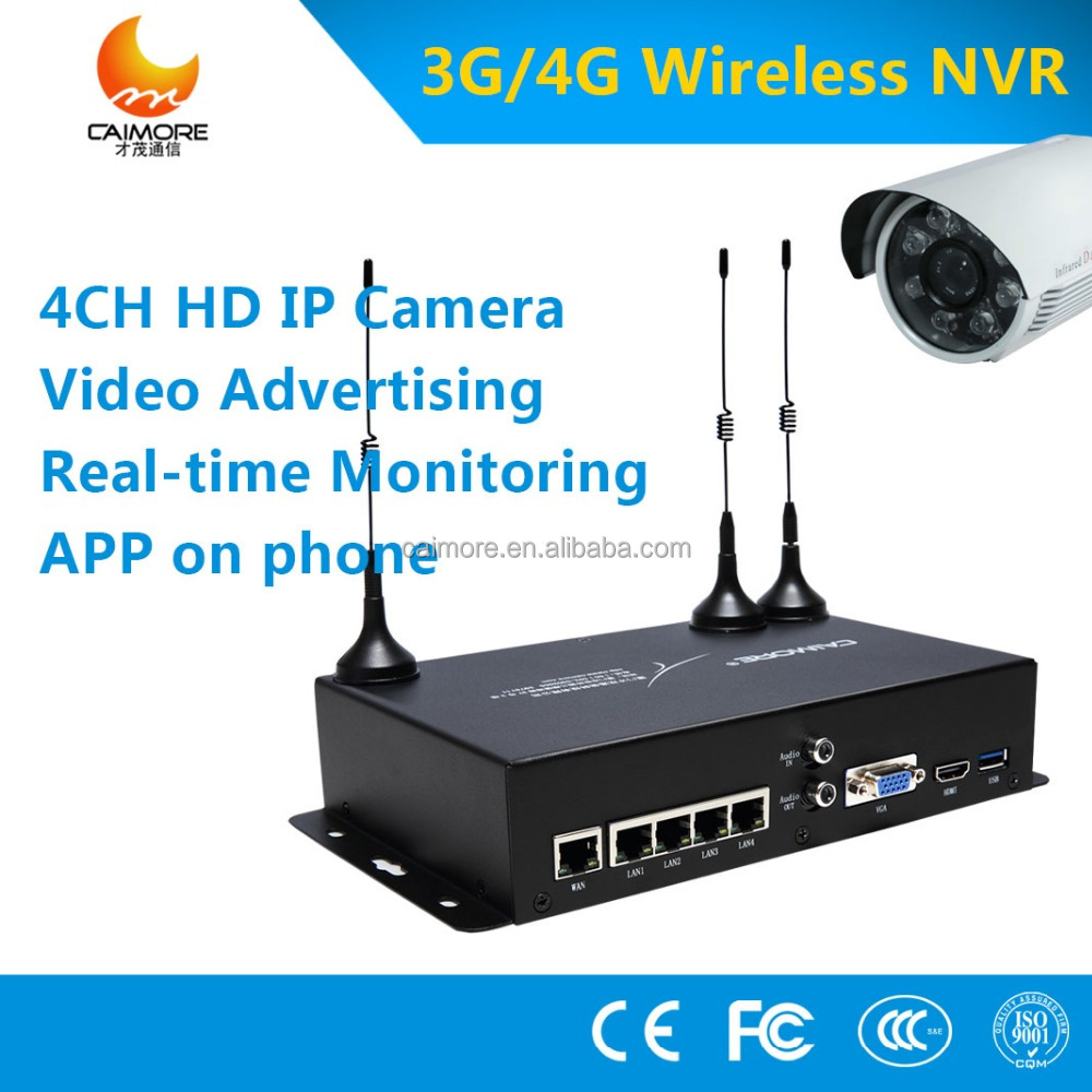 4ch onvif 3g 4g mobile wireless nvr network video recorder with ip bullet and dome camera. Black Bedroom Furniture Sets. Home Design Ideas