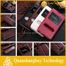 New Window View Stand Phone Case, PU Leather Flip Case For Coolpad F2 Dasen 8675