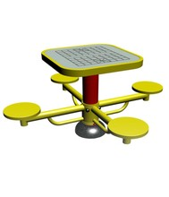 China Cheap Price High Quality Public Service Outdoor Sport Equipment Modern Chess Table For Public Plaza