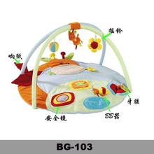 2015 hot new 100% cotton cheap baby play mat for promation