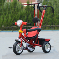 buggy tricycles tricycle with sunshade classic red tricycle