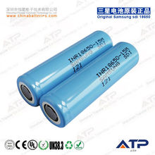 High Power Original 3.6v li-ion rechargeable battery samsung INR18650-15M 1500mah / electric bike battery