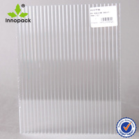 PC Corrugated hard clear plastic sheet for greenhouse
