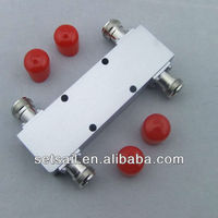 800-2500MHz, Silvery White, RF 3dB Hybrid Coupler (2:2 Combiner)
